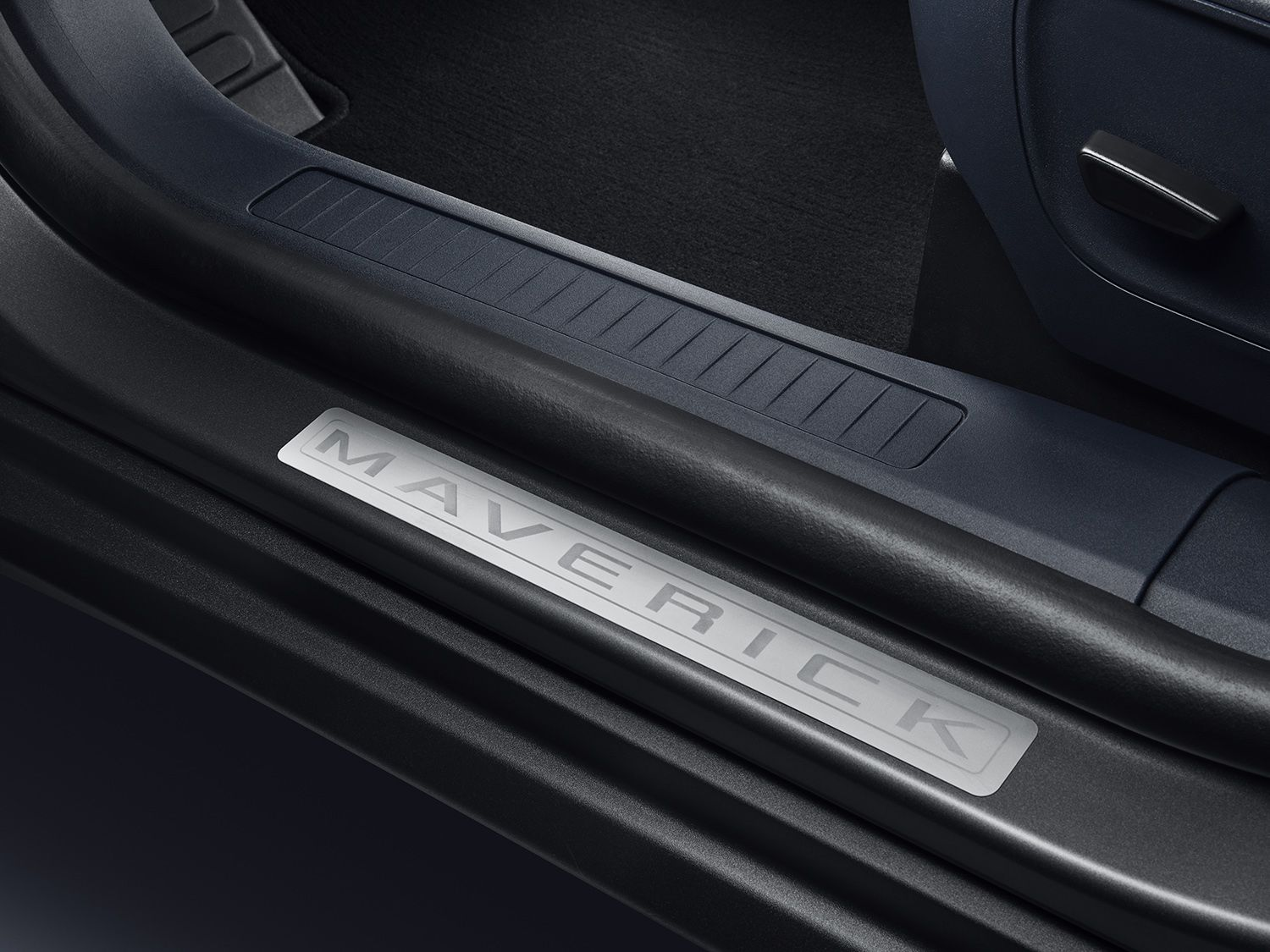 2022 ford maverick Door Sill Plates - 4 Piece Set, Polished Stainless Steel by Putco front.jpg