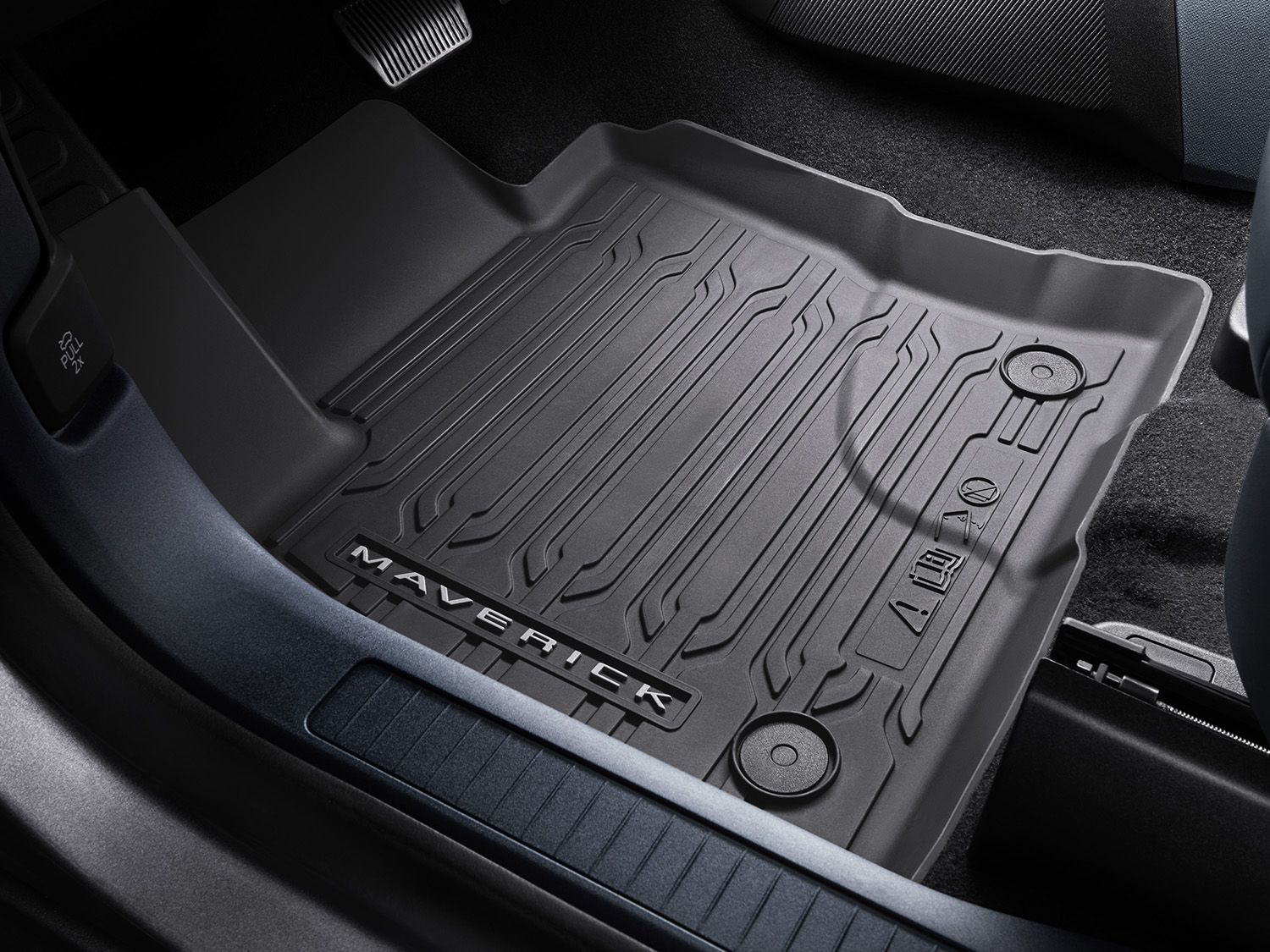 2022 Maverick Floor Liners - All-Weather Tray Style, Set, Crew Cab - GAS.jpg